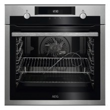 Pyrolytic Oven Aeg BPE546120M 71 L 3000W Black Stainless steel