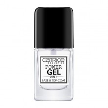 nail polish Power Gel 2 in 1 Base and Top Coat Catrice (10,5 ml)