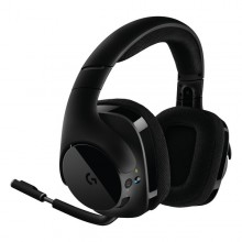 Gaming Headset with Microphone Logitech 981-000634 Black
