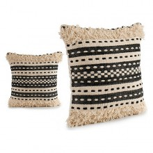 Cushion Gift Decor Black (45 x 15 x 45 cm)