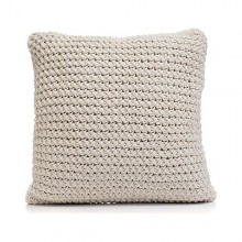 Cushion Gift Decor Wool Cream (45 x 17 x 45 cm)
