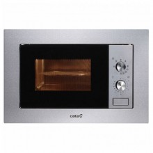 Built-in microwave with grill Cata MC20IX 20 L 800W Stainless steel
