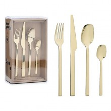 Pieces of Cutlery Stainless steel (16,5 x 7 x 26,5 cm) (16 pcs)