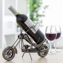Chopper Motorbike Metallic Bottle Holder