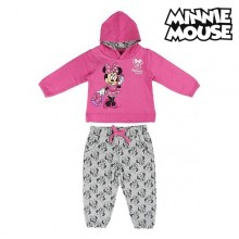 Children's Tracksuit Minnie Mouse 74713 Pink