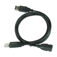 USB Double Extension Cable iggual IGG312049 0,9 m