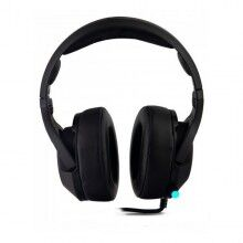 Gaming Headset with Microphone CoolBox DG-AUR-02PRO Black