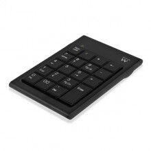 19-Key Keyboard Ewent EW3102 Black